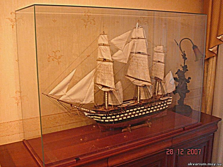 Футляры для моделей кораблей своими руками
